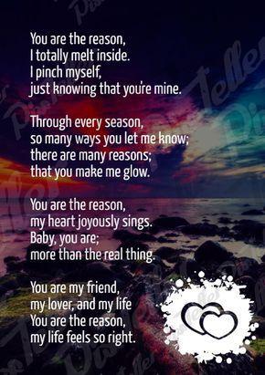 Romantic poems for your boyfriend