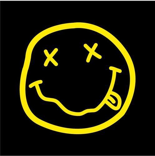 Nirvana Smiley Face Logo Gambar Grafit Sejarah Seni Seniman Jalanan