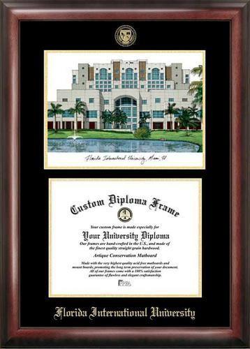 Florida International University Diploma Frame with Limited Edition ...