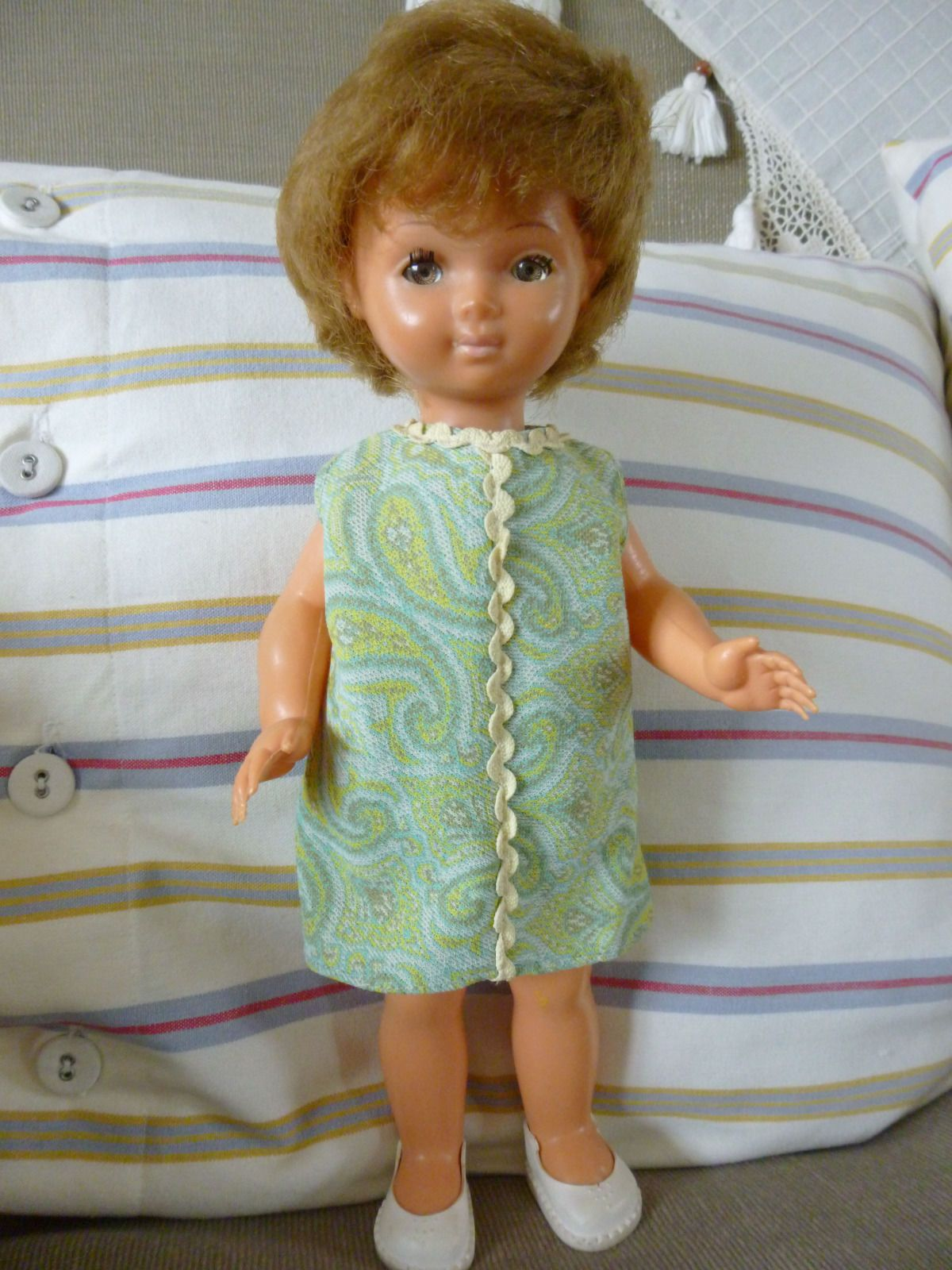 vintage bella doll made in france 1960s 3 5 3 5 bella other french dolls pinterest. Black Bedroom Furniture Sets. Home Design Ideas