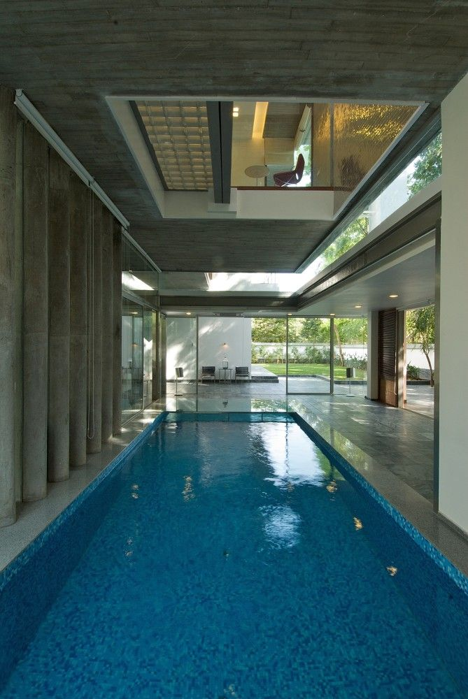 Gallery Of Poona House Rajiv Saini 36 Luxury Pools Indoor Indoor Swimming Pools Pool Houses
