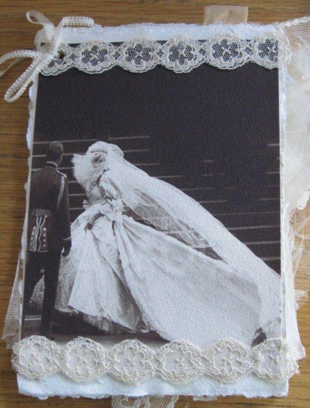 Elizabeth Emanuel\'s scrapbook from Diana and Charles\'s wedding ...