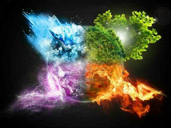 Pin by Tim Johnson on Elements   Earth air fire water, Elements of nature,  Earth wind