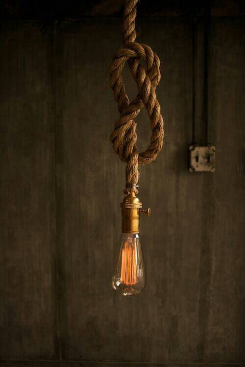 Pin By Kristin Solomon On Iluminacao Rope Light Rope Lamp Rope