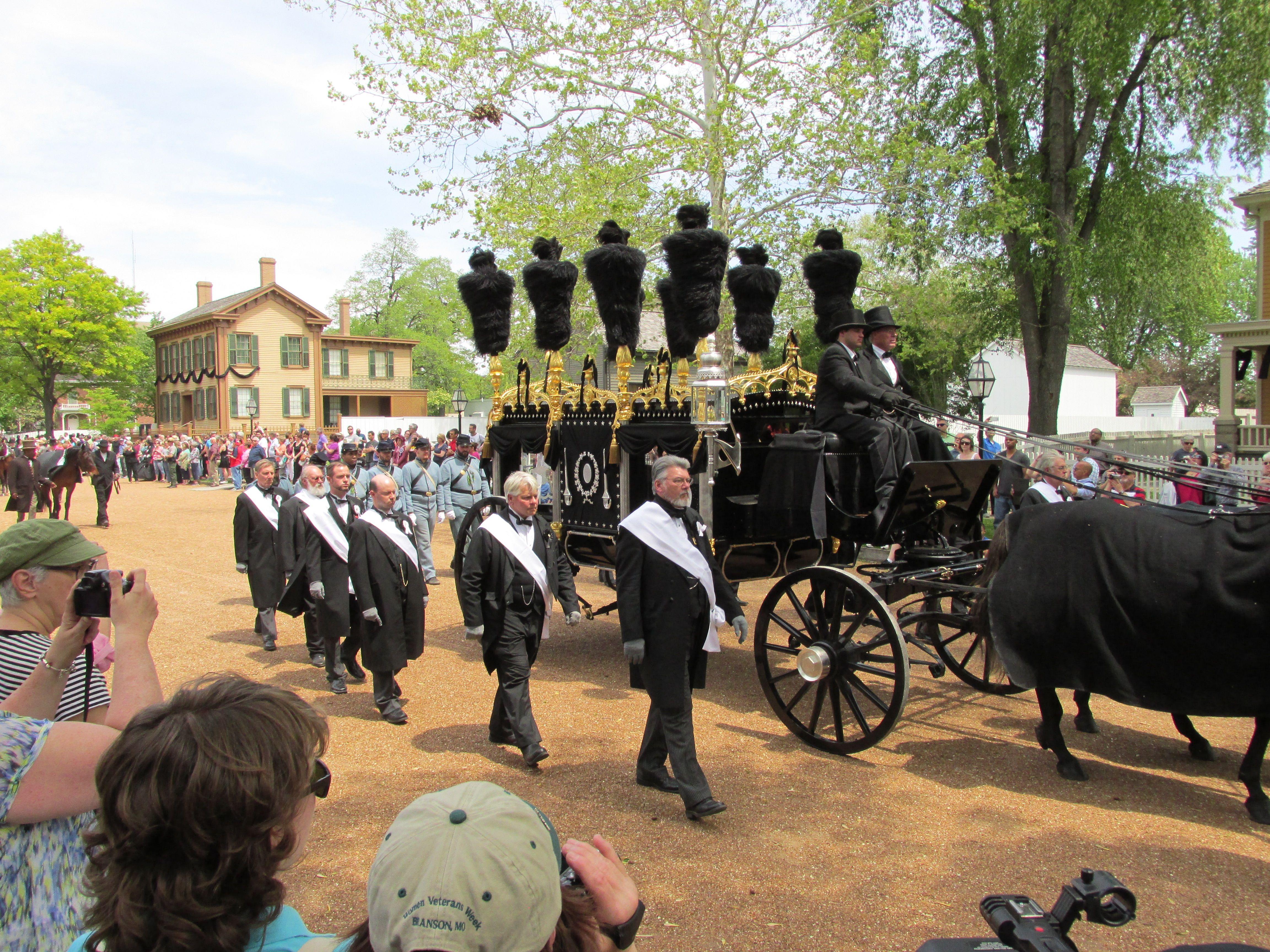 Lincoln Funeral 150th Anniversary Springfield Illinois Abraham