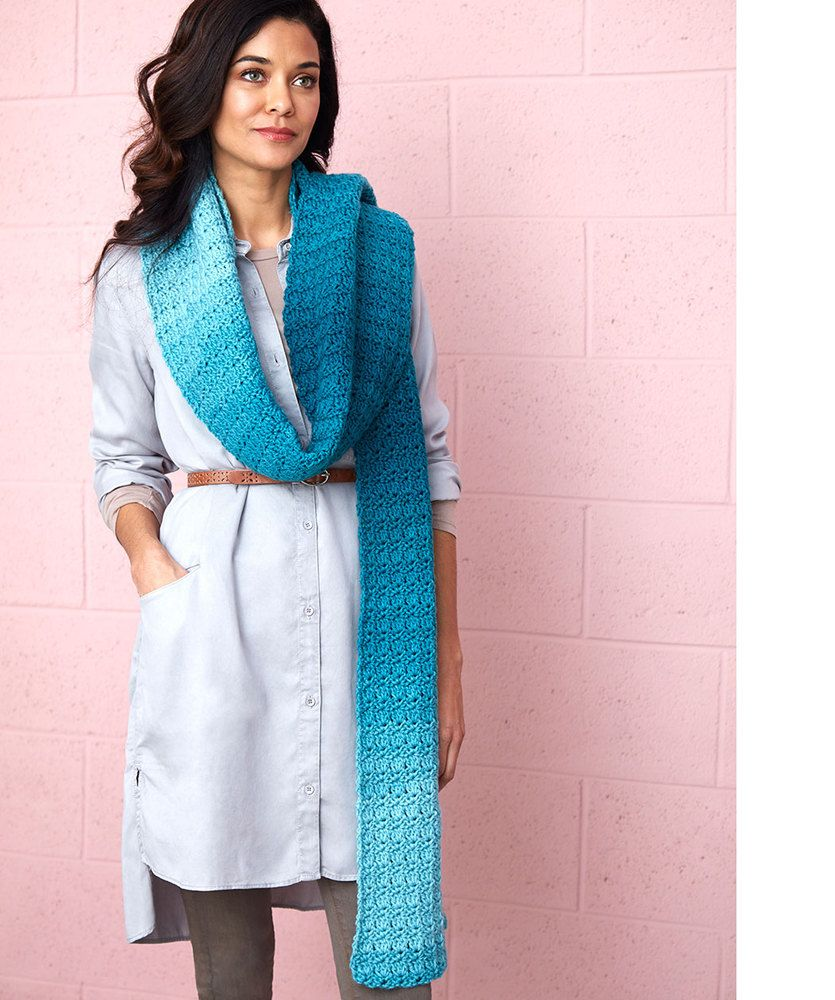 Cici's Ombre Super Scarf | Red Heart