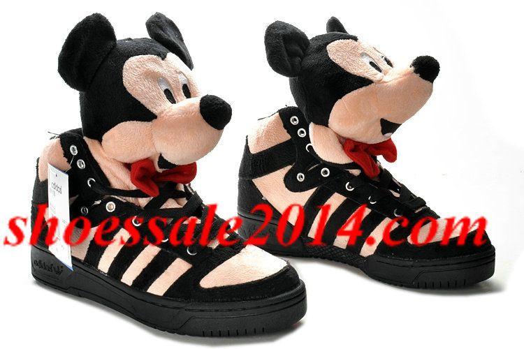 Mens Adidas Jeremy Scott Mickey Mouse Disney Shoes Jeremy Scott Adidas Shoes Jeremy Scott Adidas Mickey Shoes