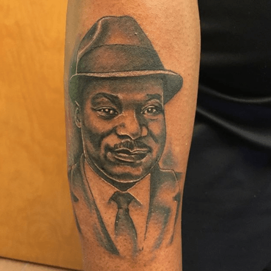 Pin On Martin Luther King Tattoo Designs