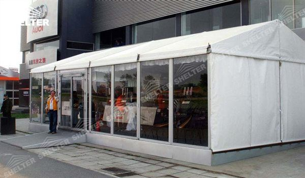 Shelter White Commercial Event Tents With Glass Doors Event Tent Tent Sale Tent