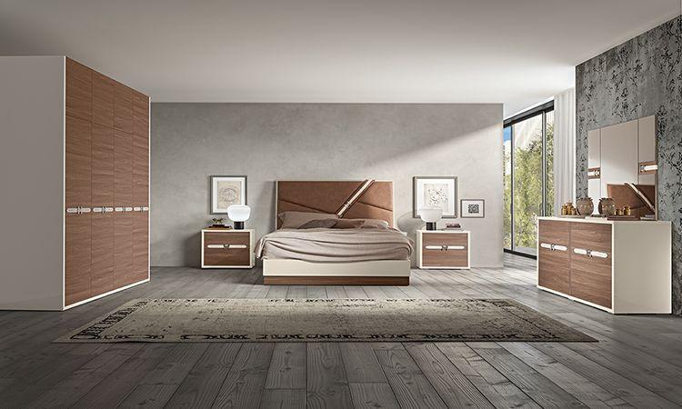 Schlafzimmer Evolution Naturfarbe In 2020 Bed Furniture Design