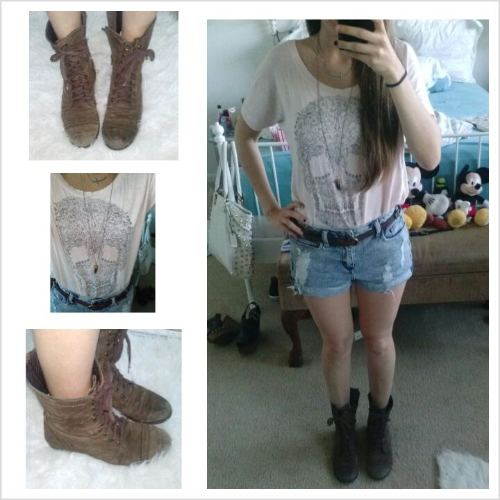 Combat Boots Outfits Tumblr