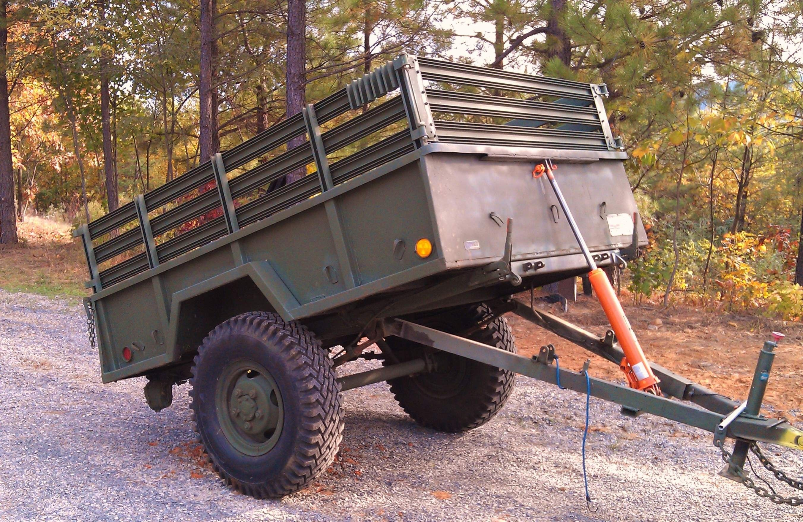 Pin by Gt500 on Military Trailer Dump trailers, Utility