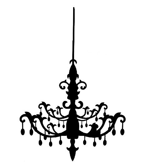 Chandelier Clip Art Good For Small Home Remodel Ideas With Galeri
