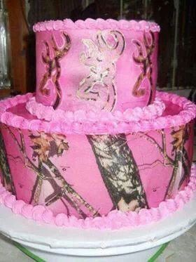 Pink Camo Browning Cake Would Love This For My Birthday Year