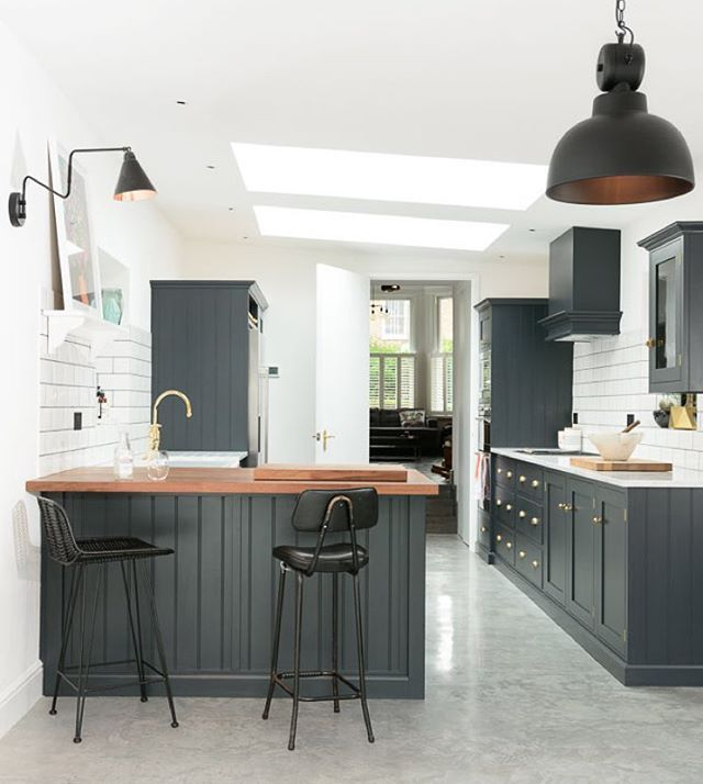 So in love with this dreamy Shaker Kitchen in East Dulwich ...