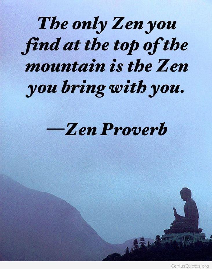 Zen Birthday Quotes … | Life Balance | Zen q…