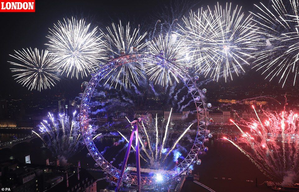 People Across The Globe Celebrate New Year S Eve 2019 In 2020