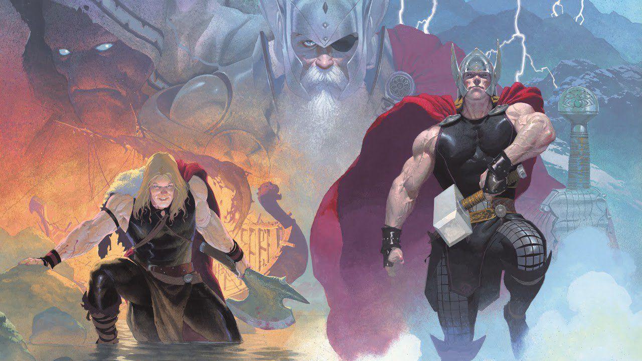Thor The God Butcher Thor Banda Desenhada Arte Com Personagens