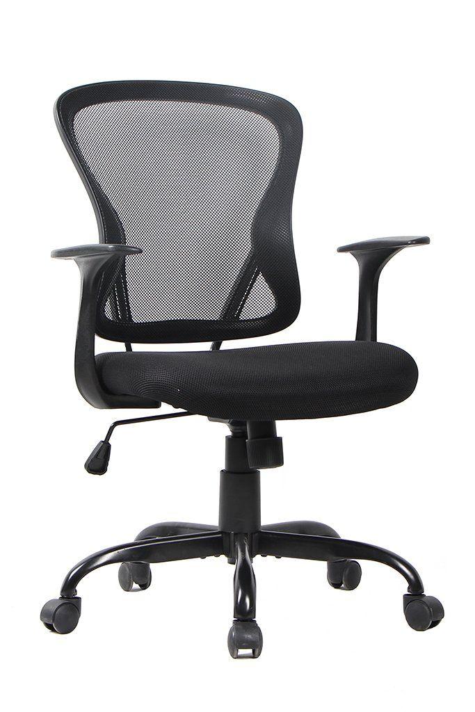 Black Bonum Mesh Ergonomic Computer Desk Office Chair Logisticpross Com