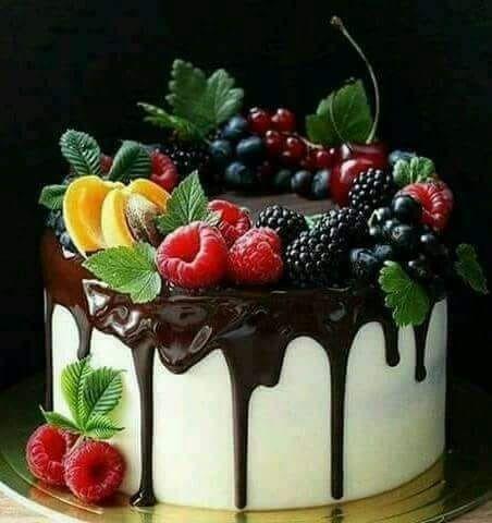 Photo of Schokoladen Ganache & Frisches Obst   – cake ideas –   #amp #cake #Frisches #GAN…
