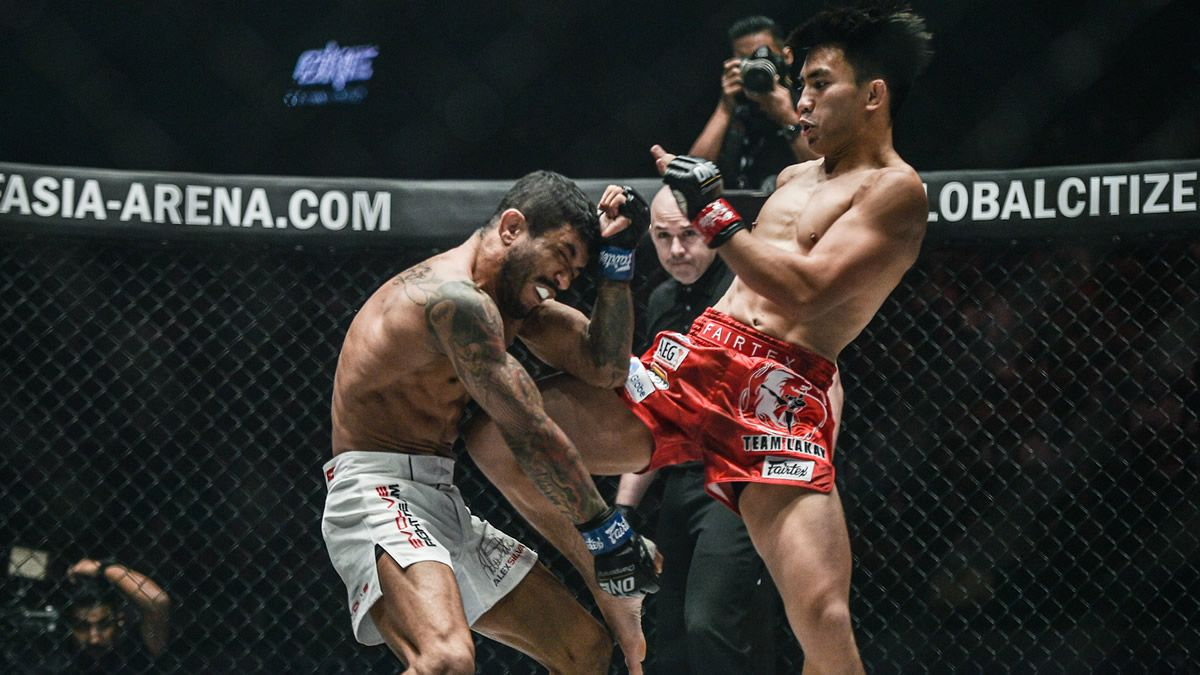 ONE Fire and Fury results Pacio defeats Silva (video