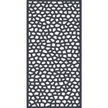 Panneau Mosaïc, coloris anthracite - l. 100 x H. 200 cm ...