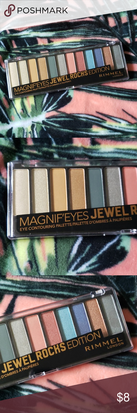 RIMMEL Jewel Rock Eyeshadow Palette NEW New and sealed