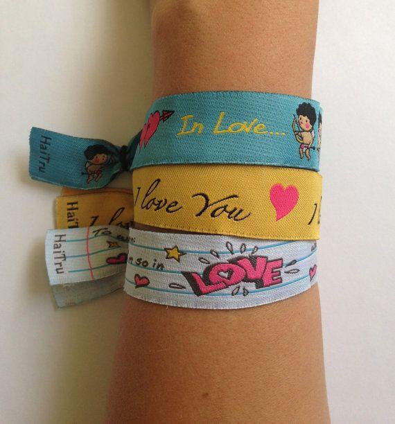 In Love Bracelet by Carlavionette on Etsy, $3.50