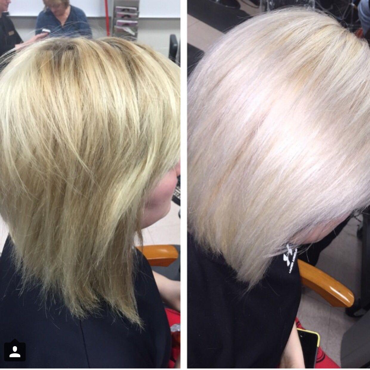 Thanks To Olaplex I Finally Got My Hair The Platinum Bleach Blonde