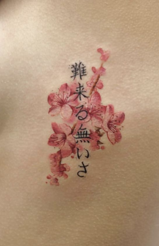 Japanese Cherry Blossom Tattoo Cherry Blossom Tattoo Japanese Tattoo Cherry Blossom Arm Sleeve Tattoos For Women