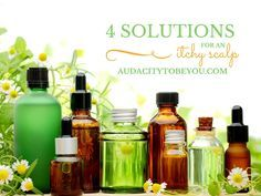 4 SOLUTIONS FOR AN ITCHY SCALP
