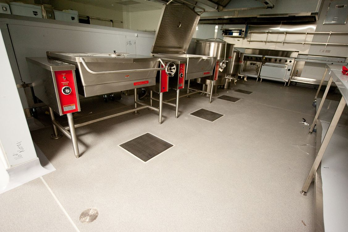 Allproof Industires Commercial Kitchen And Food Prep Areas Drainage Solutions Ck Sumps At Eden Park Drainage Solutions Commercial Kitchen Acoustic Insulation