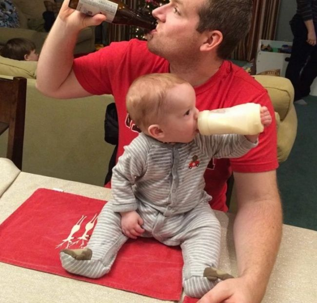 13 Cool Guys Who Managed to Make Fatherhood the Best Job in the World