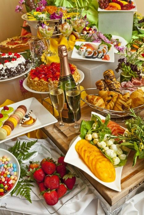 Dining Rosen Centre Hotel Catering Food Displays Brunch Buffet Buffet Food