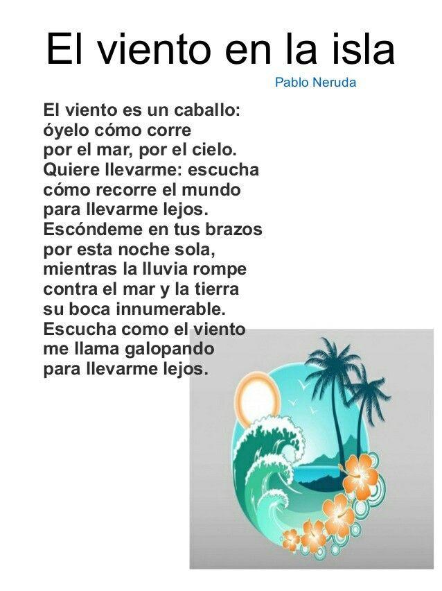 Pablo Neruda Poemas Para Ninos Poemas Cortos Para Ninos Poesia Para Ninos