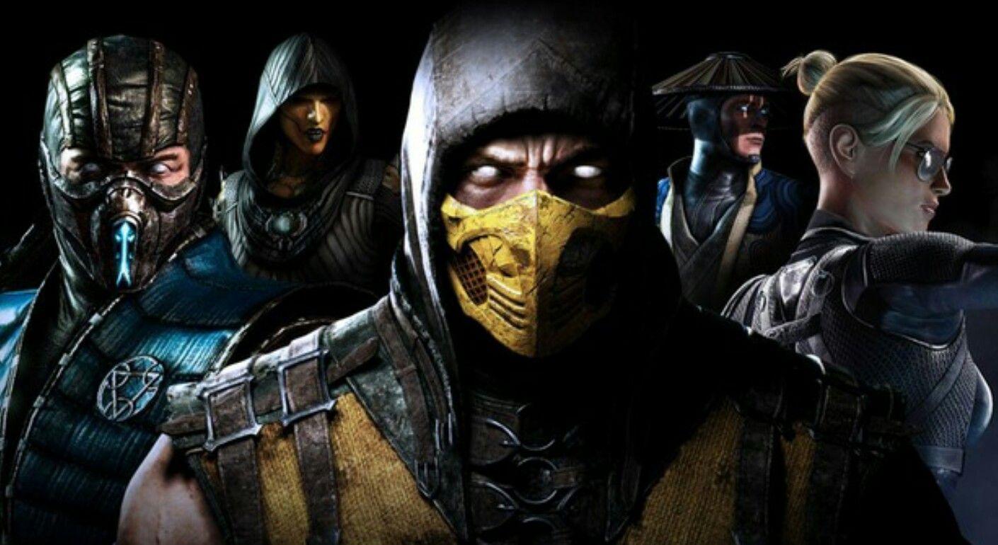 Sub Zero D Vorah Scorpion Raiden And Cassie Cage Mortal