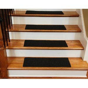 Best Dean Carpet Stair Treads 23 X 8 Black Set Of 13 640 x 480