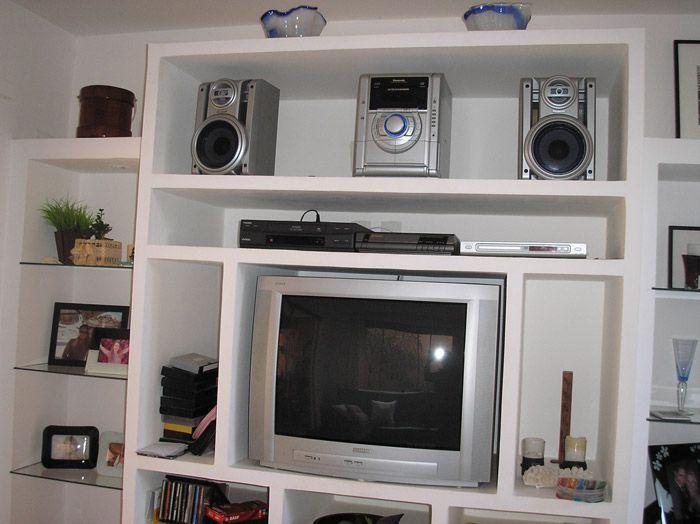 Gesso Para Sala De Tv ~ nichos de gesso para sala de tv  Pesquisa Google  Ideias para a casa