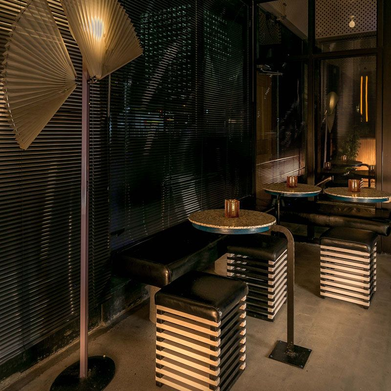Awesome This Japanese Sake Bar In Montreal Is Designed Around A Inzonedesignstudio Interior Chair Design Inzonedesignstudiocom