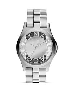 MARC BY MARC JACOBS Henry Skeleton Watch, 40mm