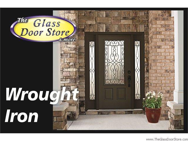 Wrought Iron Front Entry Glass Doors The Glass Door Store Tampa Glass Front Entry Doors Iron Front Door Front Doors With Windows