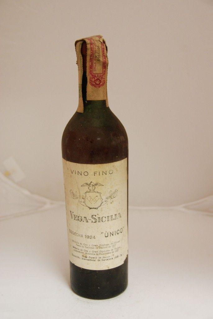 Vega Sicilia Unico 1924 Denominación Ribera Del Duero Tuhistoria Es Tipos De Vinos Vinos Botellas De Vino