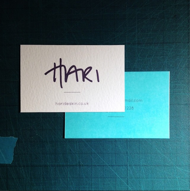 Hand made business cards 425gsm bockingford water colour paper hand made business cards 425gsm bockingford water colour paper teal tracing paper over laying reheart Gallery