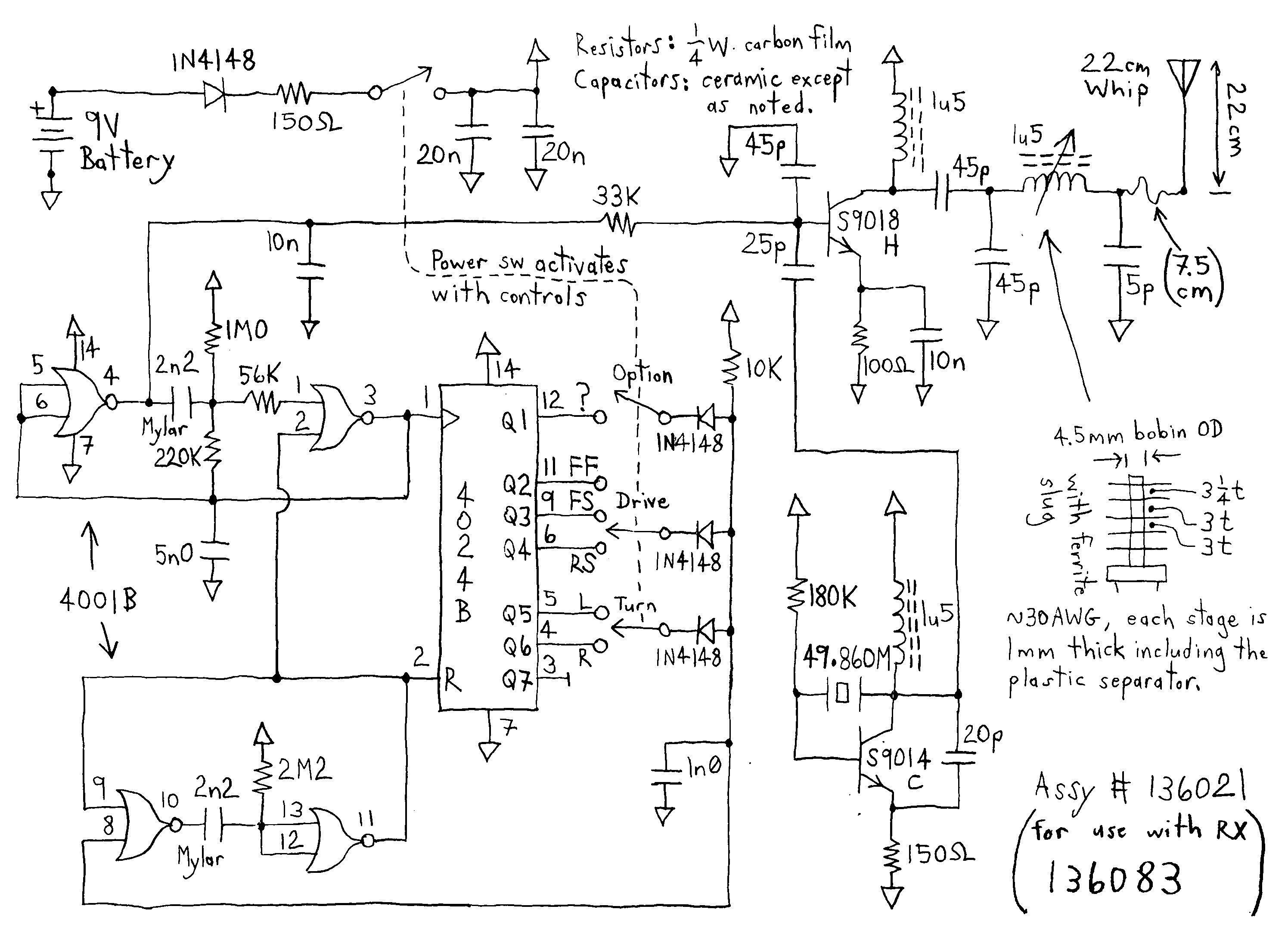 Remote Control Circuit Diagram For Toy Car Electrical Wiring Diagram Electrical Diagram Circuit Diagram