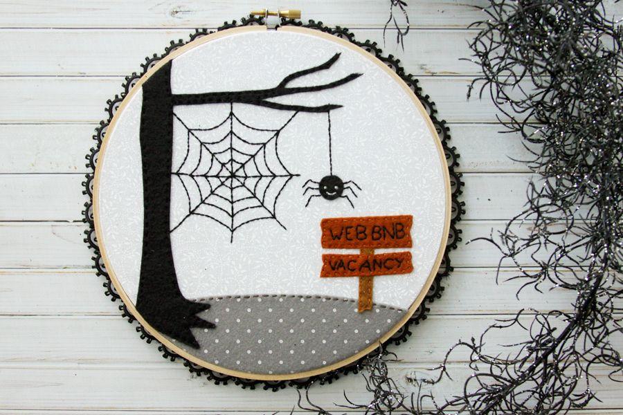 Halloween Hoop 2020 Web BnB Halloween Hoop Art   Eighteen25 in 2020 | Halloween