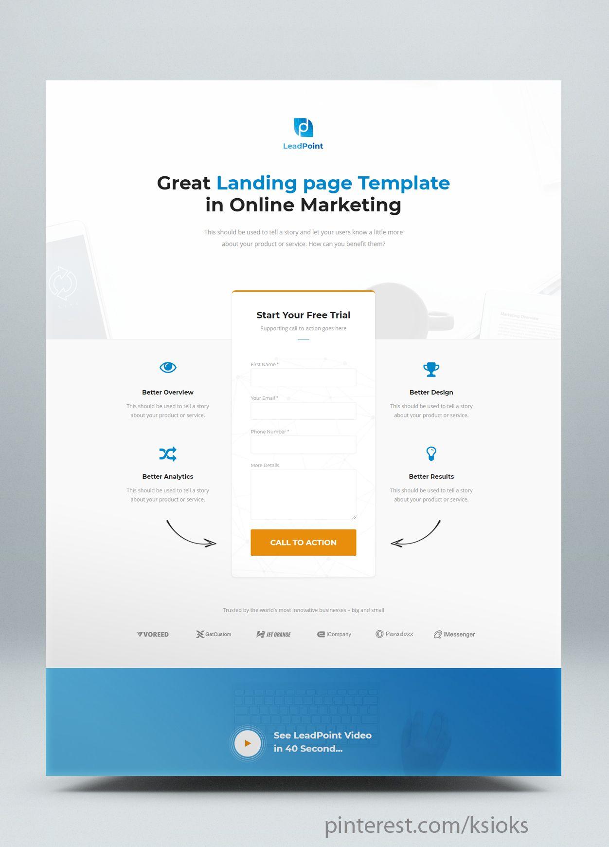 Web Design And Development Returning Lead Gen Landing Page Web Development Design Responsive Website Design Website Design Inspiration