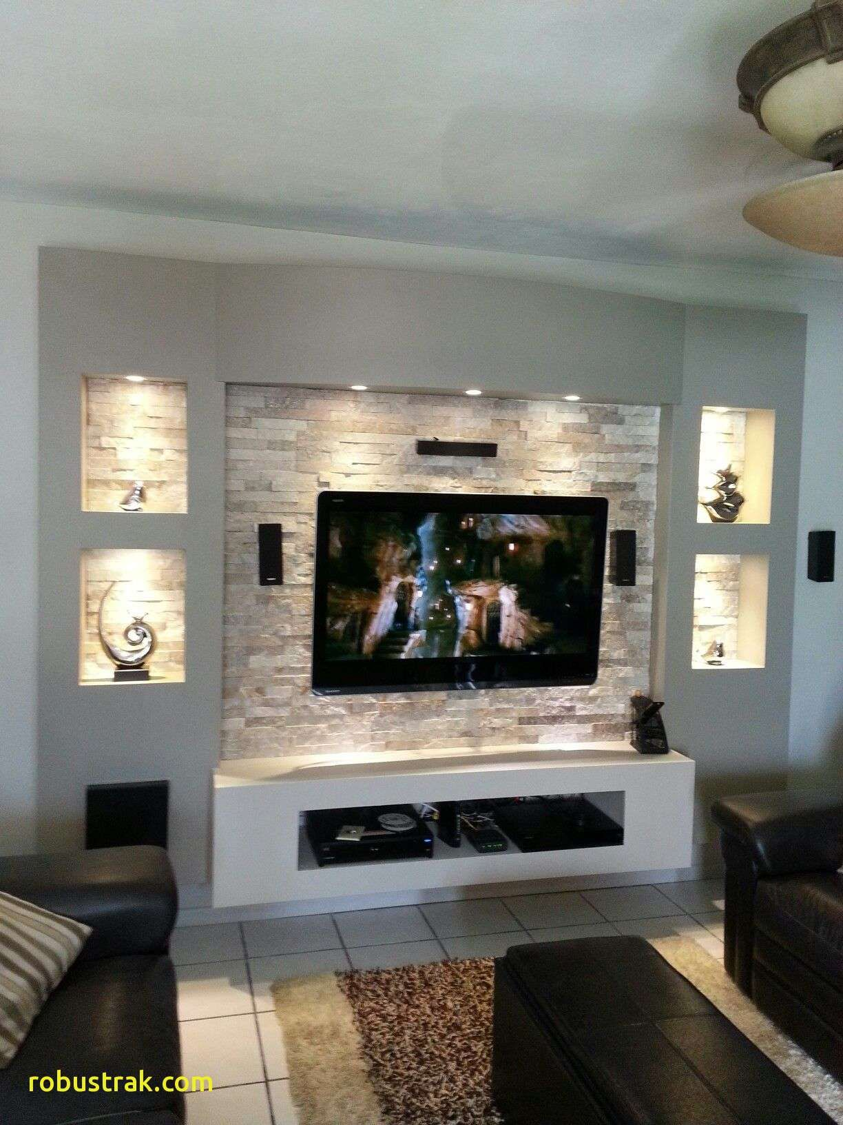 Innovaci³n Tv Unit My Own Projects Pinterest Small Living Room Ideas With Wall