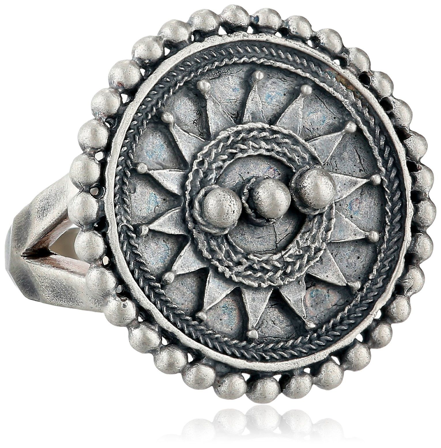 Satya jewelry sterling silver mandala sun ring size items that