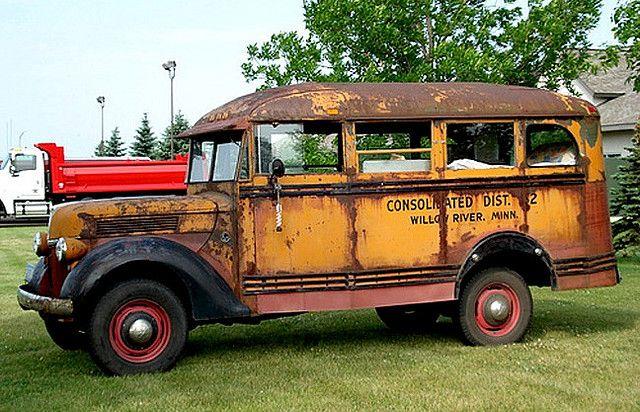 Ford Short Bus Rat Rods Truck Short Bus Bus