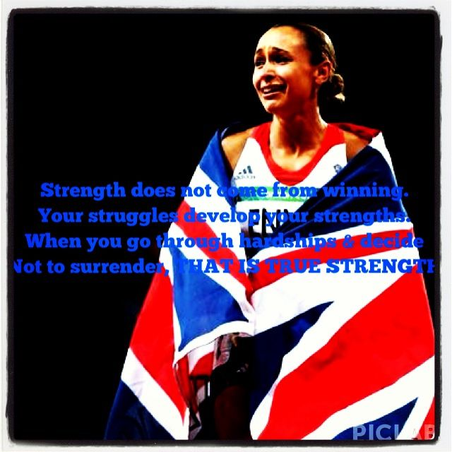 Jessica ennis inspirational quote
